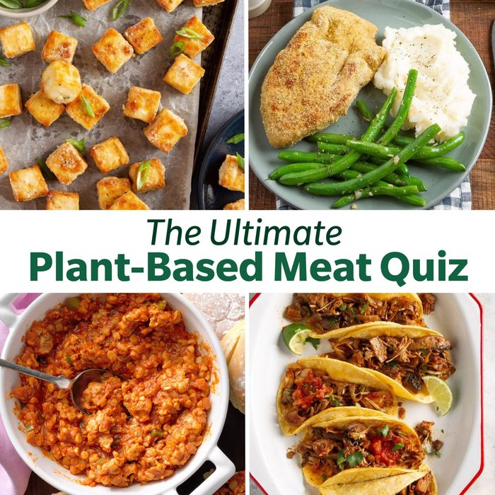 The Ultimate Plant Based Meat Quiz