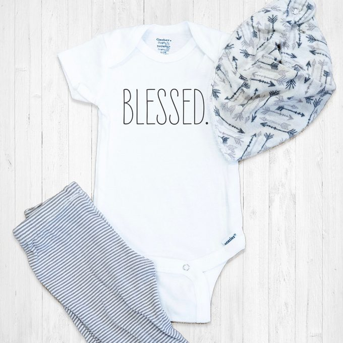 Blessed Baby Onesie® | Infant Bodysuit | Baby Boutique