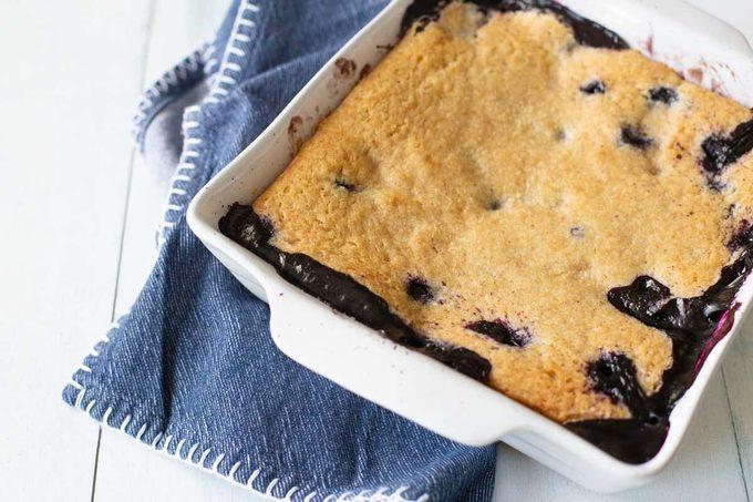 Blueberry sonker dessert