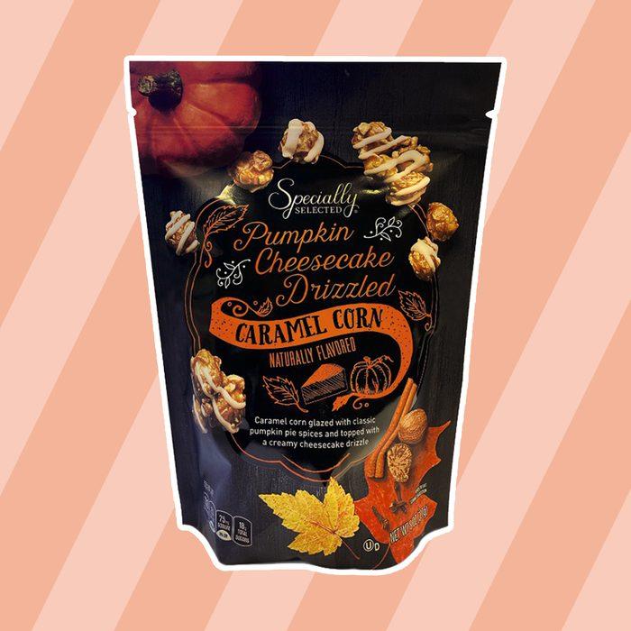 Pumpkin Cheesecake Caramel Corn