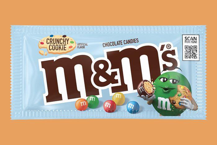 crunchy cookie m&ms