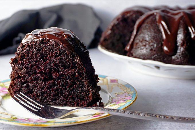 Nanas Devils Food Cake Slice