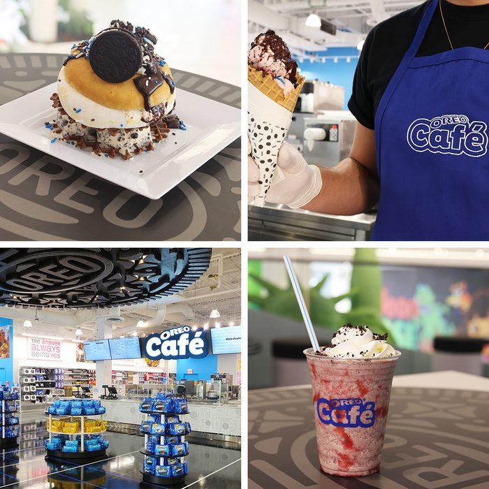 Oreo Cafe Collage