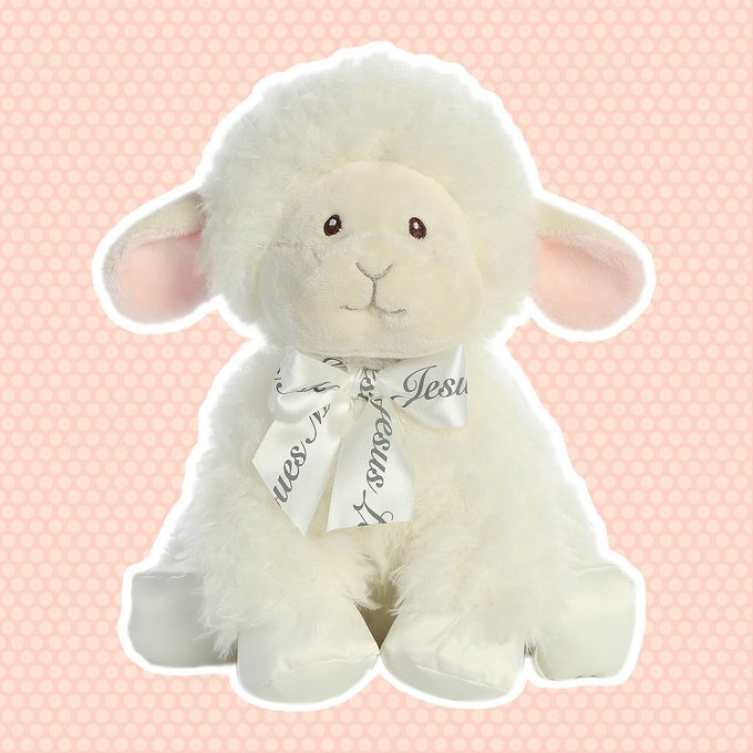 """ebba Blessing Lamb - 12"""" Wind Up Musical"""