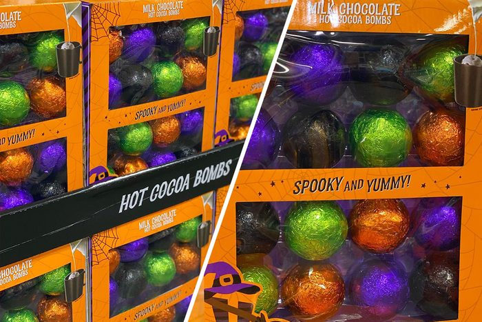 Sam's Club Halloween Hot Cocoa Bombs