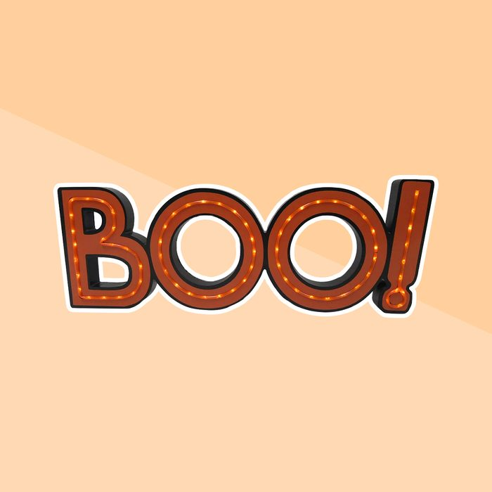 Boo! Light Up Sign