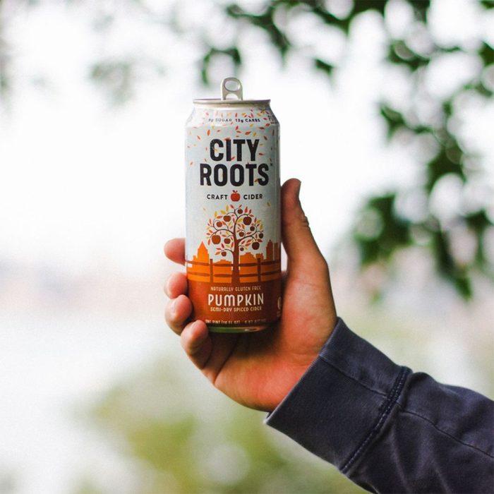 City Roots Pumpkin Cider