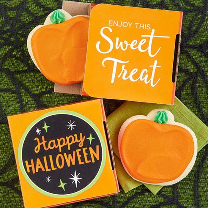 Happy Halloween Cookie Card