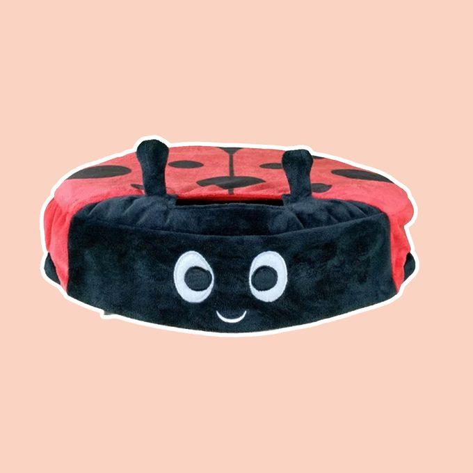 Ladybug Roomba Cover 2