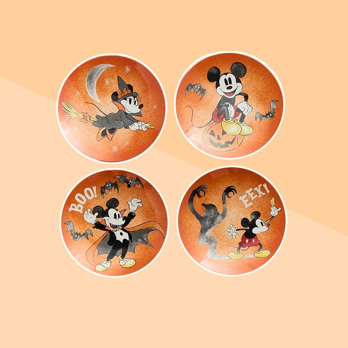 Mickey Mouse Halloween Plates