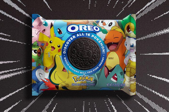 Pokemon Oreos Pack Hero Image