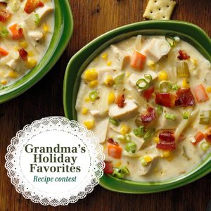 Presenting the Winners from Our Grandma's Holiday Favorites Contest