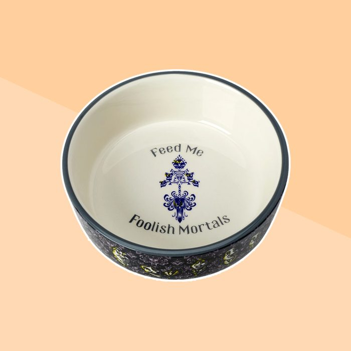 The Haunted Mansion Pet Bowl
