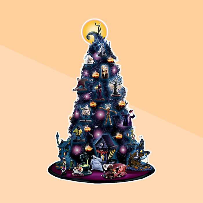 The Nightmare Before Christmas Tabletop Tree