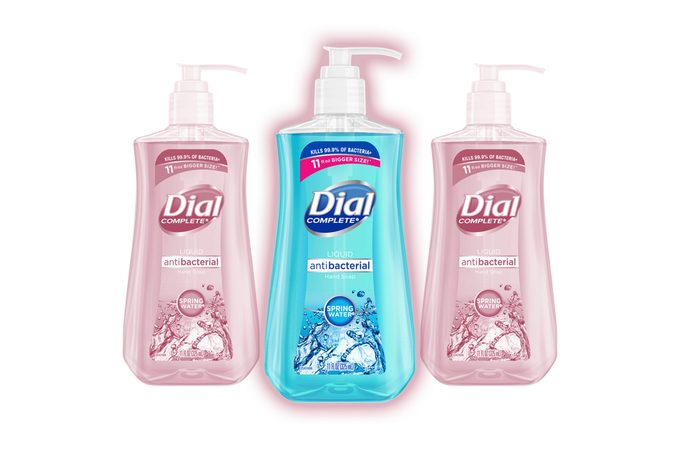 Test Kitchen Preferred Dial Complete Liquid Hand Soap Spring Water 11 Oz.