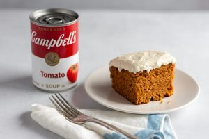 """Here's What Happened When We Made This 1950 Recipe for """"Magic Tomato Soup Cake"""""""
